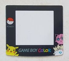 Ecran / Vitre Pokemon Pikachu, Rondoudou pour Game Boy Color, Gameboy GBC NEUF