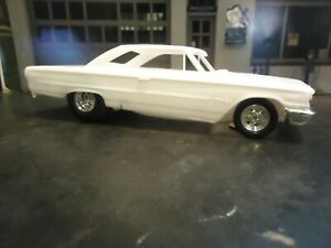 AMT 1/25 63 Ford Galaxie Resin Cast Pro Street Chassis