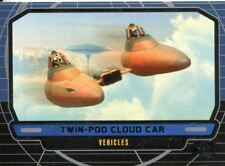 Star Wars Galactic Files Series 1 Base Card #283 Twin-Pod Cloud Car