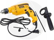 1/2in Chuck Corded Electric Drill Impact Hammer with Handle Concrete Wood Steel