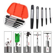 Schrauben Ausdreher Entferner 5-tlg Werkzeug Set Linksausdreher Schraubenlöser
