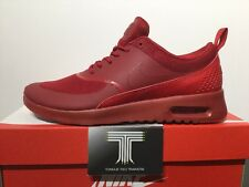 "Nike Air Max Thea ""Triple Red"" 599409 606.  U.K. Size 5"
