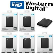 HDD disque dur externe portable 2,5★1TO★2TO★3TO★4TO★5T0 TB TO WD Element USB 3.0