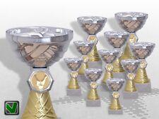 10er Pokalserie Pokale Wellington mit Gravur günstige preiswerte Pokale kaufen