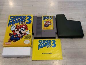 Super Mario Bros. 3 (Nintendo NES) Complete - Tested - Authentic