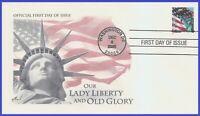 US #3965 U/A ARTCRAFT FDC   Flag & Statue of Liberty w/a
