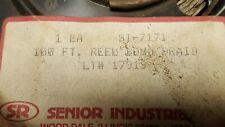 """Maclean Senior Industries Si-7171 1/2"""" Tin Plated Copper Bond Braid, 100 ft"""