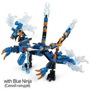 137pcs Fire Dragon Knight Model Building BlocksToys For Kids