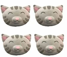 "4 SET LOT Big Bang Theory Official Soft Kitty Plush Pillow Pet 16"" Sheldon Penny"