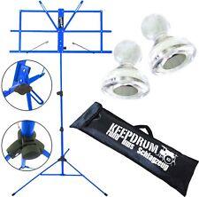 KEEPDRUM MUS2BL Notenstaender Blau + Magnete