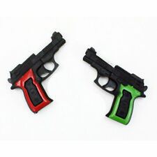 kids childs police toy plastic gun shooting shoot stocking filler mini play set