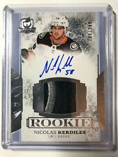 2017-18 Upper Deck The Cup Nicolas Kerdiles Rookie Patch Auto /249