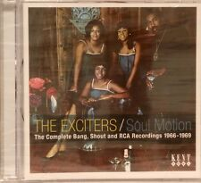 THE EXCITERS / SOUL MOTION - 21 Tracks - KENT