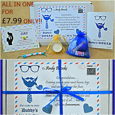 Fathers day gift Baby Shower Gifts/ Dad to be gift Survival kit PERSONALISED