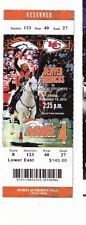 2014 DENVER BRONCOS VS KANSAS CITY CHIEFS TICKET STUB 9/14 PEYTON MANNING