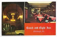 THE COACH & EIGHT INN,RESTAURANT~PITTSBURGH,PA