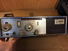 Vintage Utica Town & Country II T&C II Vacuum Tube CB Radio TC-2