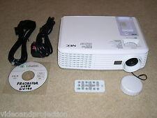 NEC NP200 XGA DLP Projector Data/Video/NP/HDTV/HD-Ready Projector - NEW LAMP!