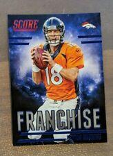 Peyton Manning - 2016 Panini FRANCHISE BLUE #F17 Denver Broncos HOF