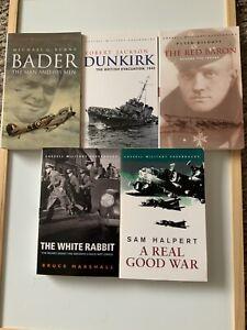 CASSELL MILITARY BOOKS WW2 x 5