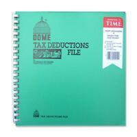 "Dome Tax Deduction File w/ Pockets 11""x9-3/4"" 912"