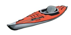 Advanced Elements Frame TM Elite Kajak Luftboot red