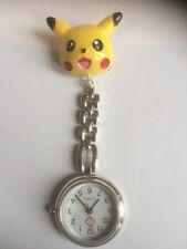 Pokemon Pichu Handmade Nurse / Vet Nurse / Student Fob Watch.