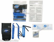 Park Tool WTK-2 Essential Bike Tool Kit Tire Levers Hex Wrench Patch
