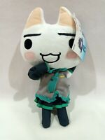 "Taito Doko Demo Issyo Toro x Hatsune Miku Plush Toy Doll 11"" Japan TAG"