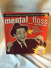 2200) Mental Floss Trivia Game Pressman Toy 2005 UNPUNCHED NEVER PLAYED