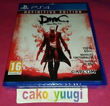 DEVIL MAY CRY DEFINITIVE EDITION SONY PS4 NEUF SOUS BLISTER VERSION FRANCAISE