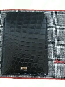 Brioni Crocodile mini ipad case $4K NWT