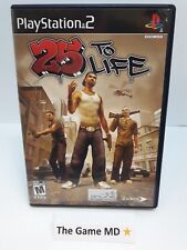 25 to Life (Sony PlayStation 2, 2006) NTSC -Complete