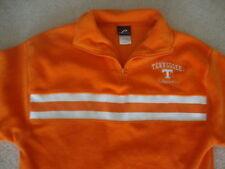 NCAA Tennessee Volunteers Orange Football Basketball FLEECE Pullover Jacket M