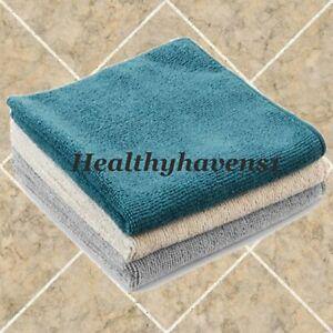 Norwex BODY CLOTH - COASTAL 3 PACK - TEAL GRAPHITE VANILLA - Microfiber BacLock