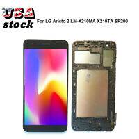 Fit For LG Rebel 4 LTE TracFone L212VL丨LM-L211BL丨LML212VL LCD Touch Screen±Frame