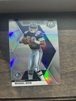 Michael Irvin #289 cowboys Hall of Fame 2020 Panini MOSAIC PRIZM silver parallel