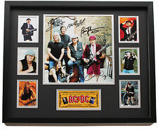 New AC DC Signed Limited Edition Memorabilia