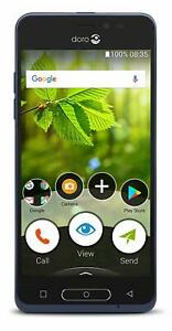 Doro 8035 Android 7 Touch Screen 4G Unlocked Elderly Smartphone *In Plain Box*