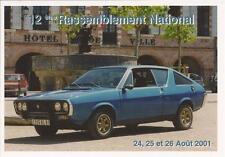 Carte Postale CAR OCCITAN 2001 Renault R17,R 17 Gordini