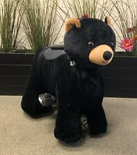 Electric Rechargeable Ride-on Animal Rides - Mini Black Bear by Giddy Up Rides