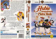 HUBIE ALL'INSEGUIMENTO DELLA PIETRA VERDE (1996) VHS RARISSIMA