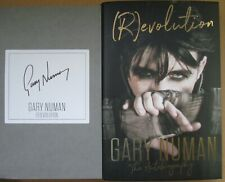 Gary Numan-Signed Bookplate-(R)evolution-Autobiography