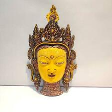 Resin Feng Shui Tara Mask Wall Hanging For Home And Office Decorative