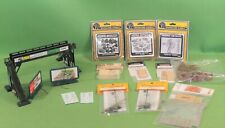 Model Railroad HO Scale Train Layout Accessories Buildings Supply Bridge & More!