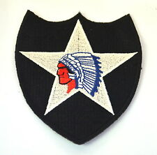 GERONIMO NATIVE Apache INDIAN Embroidered Sew On Cloth Patch Badge  APPLIQUE