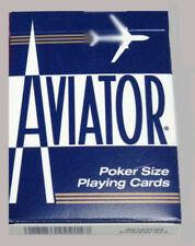 VINTAGE DECK OF AVIATOR POKER SIZE PLAYING CARDS~THE U.S. PLAYING CARD CO.