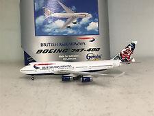GEMINI JETS 1:400 Boeing 747-400 British Asia Airways Chelsea Rose Ref: GJBAW021
