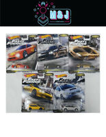 Hot Wheels Fast & Furious Fast Tuners Set 1-5 Nissan, Honda,Mazda (Aus Seller)