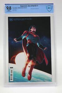 Superman Son Of Kal-El (2021) #1 Stephen Byrne CBCS 9.8 Blue Label White Pages